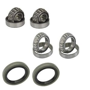 Porsche 928 944 968 Front Inner And Outer Wheel Bearing Kit Top Quality New