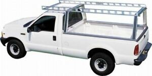 System One Heavy Contractors Truck Rack With 4 Work Winches
