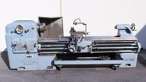 Graziano Sag 508 Gap Bed Engine Lathe 21 28 X 80 Nice