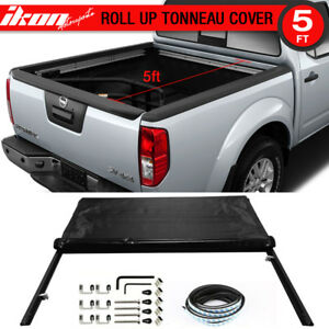 Fits 05 16 Nissan Frontier 5ft 60in Bed Lock Soft Roll Up Tonneau Cover