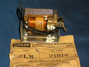Marsh 2004 Pull Solenoid For 2ls Twin Taper