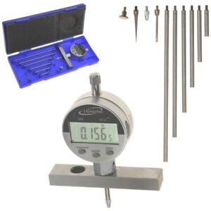 Depth Gauge Digital Indicator 22 0 0005 Wide Base Inch mm fractions Igaging