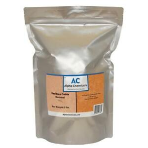 5 Lb Red Iron Oxide Fe2o3 Natural Source