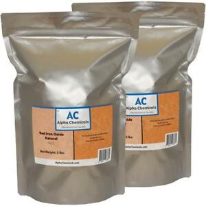 10 Lb Red Iron Oxide Fe2o3 Natural Source