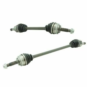 Front Complete Cv Axle Shaft Driver Passenger Pair 2pc For Echo Xa Xb New