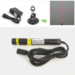 16120 Focusable 648nm 650nm 200mw Red Cross Laser Module Diode Ld mount adapter