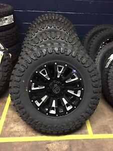 5 Black Rhino Pinatubo 20x9 5 18 Wheels 33 Mt Tires Package Jeep Wrangler Jk