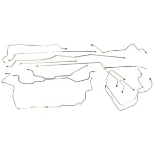 1995 98 Chevrolet Gmc K1500 Ext Cab Short Complete Brake Line Kit Set Lines Ss