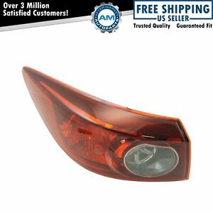 Outer Tail Light Lamp Assembly Driver Side Lh Lr For Mazda 3 New