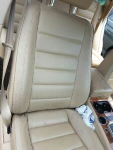 Passenger Front Seat Bucket Air Bag Leather Fits 04 07 Touareg 174604