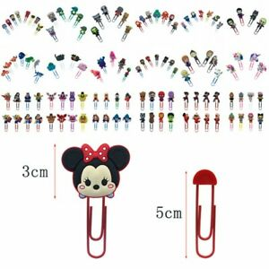 Wholesale 1000pcs Paper Clips Bookmarks Binder Diy Office School Stationery Gift