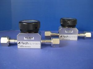 Aptech Ap3800sm Fv8 Fv8 00 Manual Valve 1 2 Fvcr Lot Of 2 Used