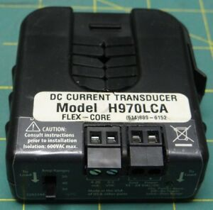 Dc Current Transducer Flex core Ma And Voltage Output Model H970lca