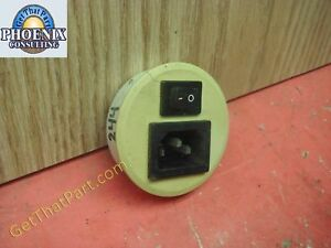 Sem 244 Paper Shredder Oem Main Power Receptacle And Switch Assembly