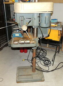 Rockwell Heavy Duty Commercial Drill Press 15 665 3 4hp 230 460 Volts W Extras