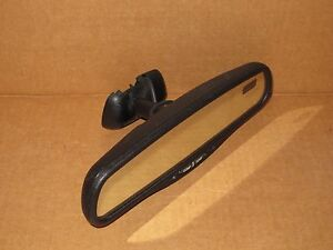 1999 Chevy Tahoe Rear View Mirror Oem Factory Compass Temp