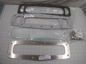 Milnor Level Indicator Sight Glass 02 18657 Gaskets 02 18940d Clamping New