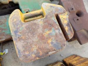 John Deere Suitcase Weights For Tractors Skid Steers Etc Not Stamped 4111