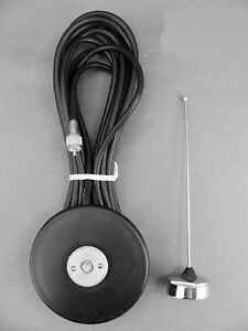 New Motorola Uhf Magnetic Mount Nmo Antenna Kit