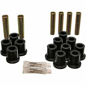 Energy Susp 2 Spring And Shackle Set Leaf Spring Bushings Rear New 4 2103g