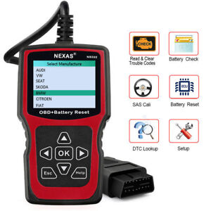 Auto Obd2 Diagnostic Scanner Tool For Bmw Code Reader Enginesas Battery Reset Us