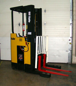 Caterpillar Ep20kt Sit Down Electric Forklift 36v Side Shift Tilt 81 240