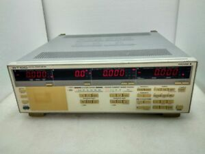 Yokogawa Wt 1010 Digital Power Meter Model 253610