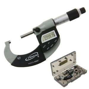 Micrometer Outside 1 2 00005 Ip65 Digital Electronic Vernier Analog Usb Igaging