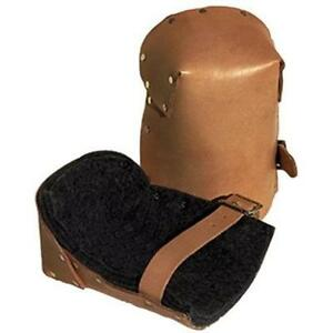 Alta 30903 Natural Pro Leather Kneepads W buckle Fa