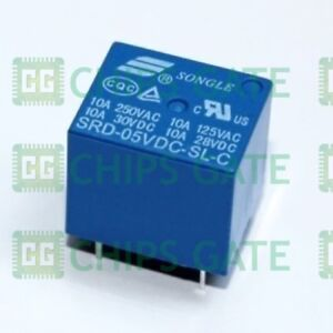 9pcs New 1 Channel 5v Relay Module Shield For Arduino Srd 05vdc sl c