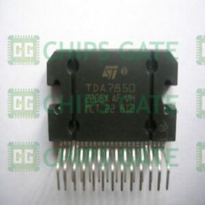 5pcs Audio Power Amplifier Ic St Zip 25 Tda7850