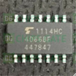 9pcs Tc4066bf Encapsulation smd quad Bilateral Switch