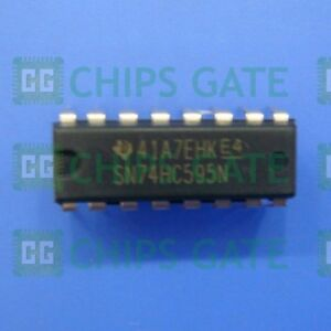 200pcs Ic Texas Sn74hc595n Ic 8 bit Shift Register 16 dip