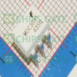 70pcs New Fairchild Moc3041 Zero cross Optoisolators Triac Driver Ic