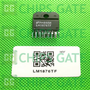 3pcs Audio Power Amplifier Ic Nsc Zip 15 To 220 15 Lm1876tf Lm1876tf nopb