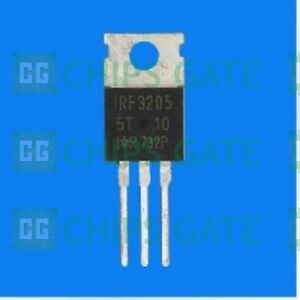 60pcs Irf3205pbf Irf3205 Mosfet N ch 55v 110a To 220 New Good Quality T42