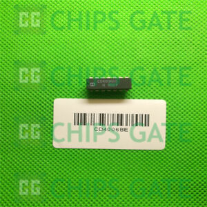 15pcs Cd4006be Encapsulation dip cmos 18 stage Static Shift Register
