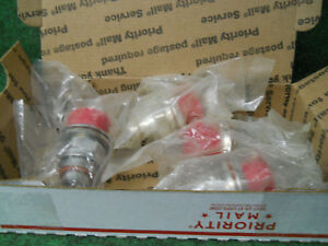 1lot Of 4 Andrew Ca bdfdm Din Female Male Bulkhead Adapter Connector