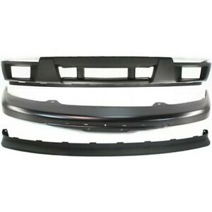 New Bumper Cover Facial Kit Front For Chevy Gm1000722 Gm1002825 Gm1092183