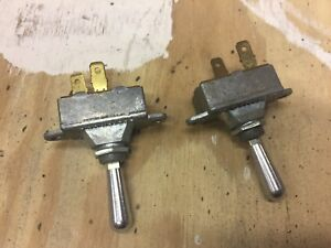 Vintage Truck Bus Street Rod Hot Rod Cole Hersee 551001 Toggle Switches