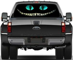 Cheshire Cat Alice In Wonderland Rear Window Decal Sticker Car Truck Suv Van 681