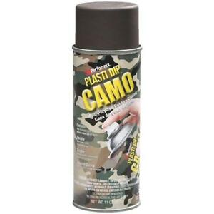 6 Pk 11 Oz Performix Plasti Dip Brown Camo Rubber Coating Spray Paint 11216 6