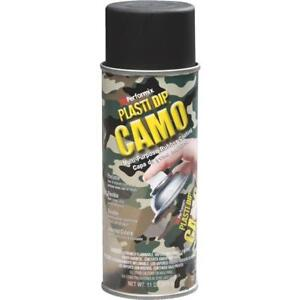 6 Pk 11 Oz Performix Plasti Dip Black Camo Rubber Coating Spray Paint 11214 6