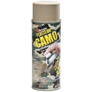 6 Pk 11 Oz Performix Plasti Dip Tan Camo Rubber Coating Spray Paint 11215 6