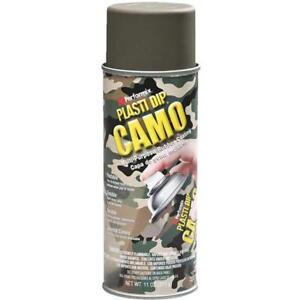 6 Pk 11 Oz Performix Plasti Dip Green Camo Rubber Coating Spray Paint 11217 6