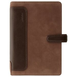 Filofax Holborn Personal Size Nubuck Leather Organizer Agenda Weekly Planner