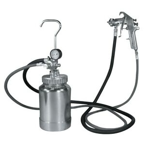 Astro Pneumatic 2pg8s 2 Quart Pressure Pot 1 7mm Spray Gun Kit