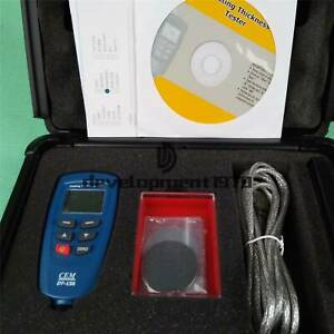 New 1pcs Cem Dt 156 Paint Coating Thickness Tester Meter Gauge