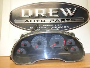 Speedometer Ford Mustang 99 00 Instrument Cluster