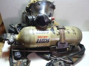 Pre owned Scott 1992 Edition Firefighter Scba Harness W Mask